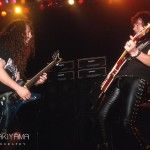 Dimebag Darrell and Ace Frehley